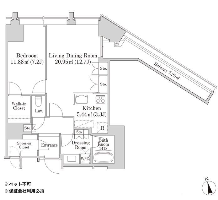 ラ・トゥール飯田橋701号室