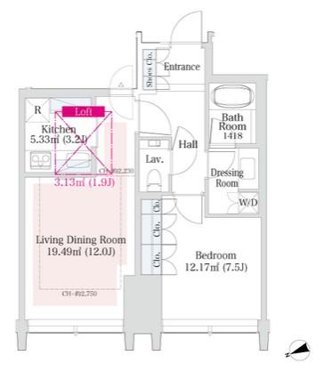 ラ・トゥール新宿グランド2102号室