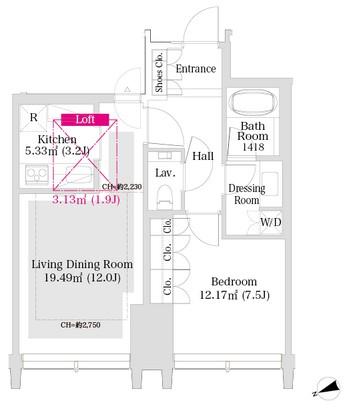 ラ・トゥール新宿グランド2602号室