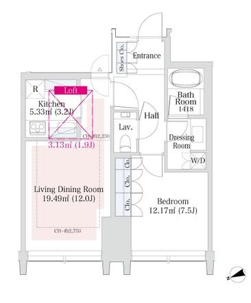 ラ・トゥール新宿グランド2902号室