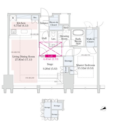 ラ・トゥール新宿グランド3903号室