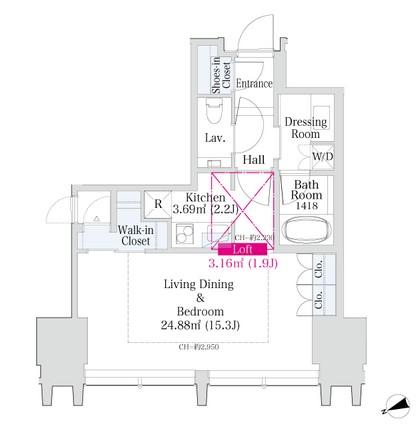 ラ・トゥール新宿グランド504号室