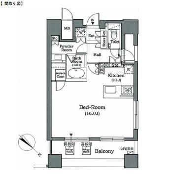 ホライズンプレイス赤坂901号室
