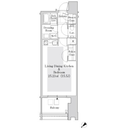 ラ・トゥール新宿ガーデン2423号室