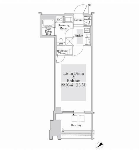 ラ・トゥール新宿ガーデン3023号室