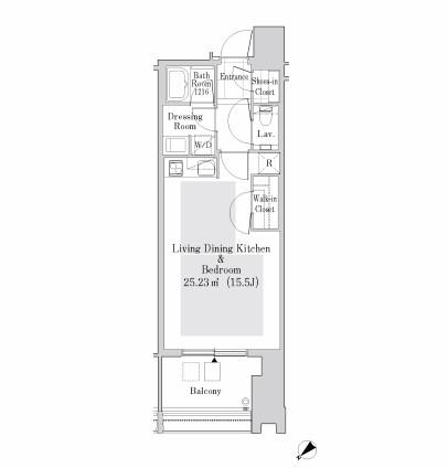 ラ・トゥール新宿ガーデン3024号室