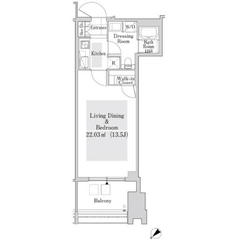 ラ・トゥール新宿ガーデン3118号室