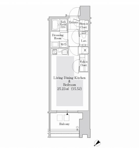 ラ・トゥール新宿ガーデン3424号室