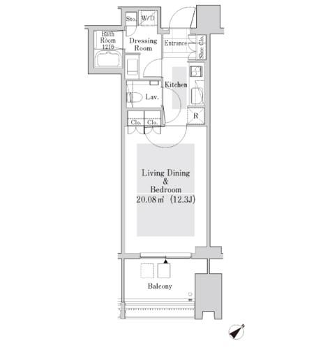 ラ・トゥール新宿ガーデン3706号室