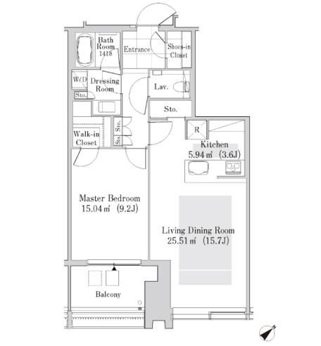 ラ・トゥール新宿ガーデン3710号室