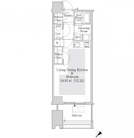 ラ・トゥール新宿ガーデン3720号室