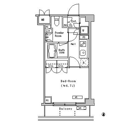 ヒルトップハウス池尻229号室