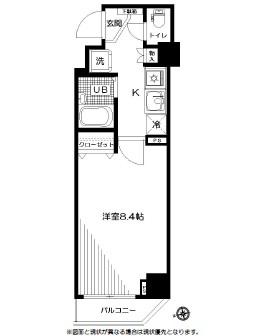 スペーシア飯田橋Ⅰ・Ⅱ 504号室