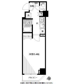 スペーシア飯田橋Ⅰ・Ⅱ 704号室