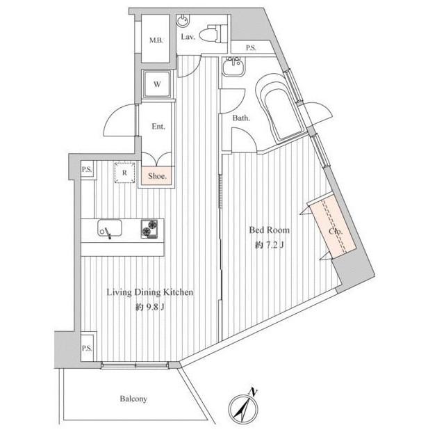 スペーシア麻布十番Ⅰ602号室