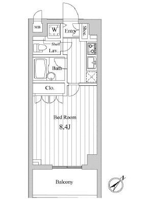 スペーシア三軒茶屋弐番館403号室