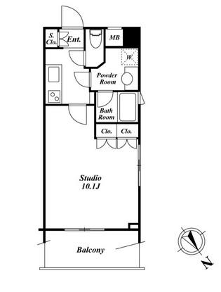 スペーシア三軒茶屋弐番館 509号室