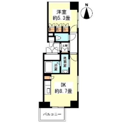 グランカーサ新宿御苑1006号室