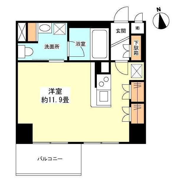 グランカーサ新宿御苑1104号室