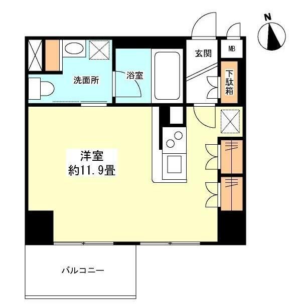 グランカーサ新宿御苑1204号室