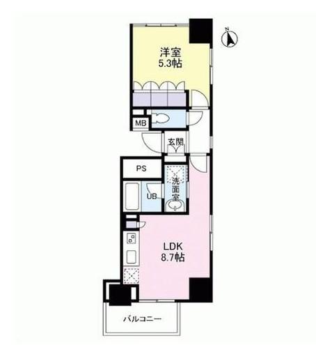 グランカーサ新宿御苑1206号室