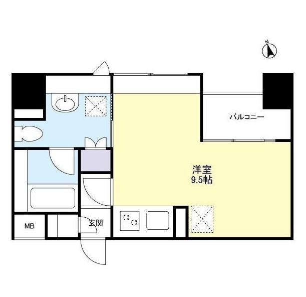グランカーサ新宿御苑1207号室
