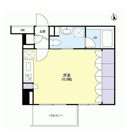 グランカーサ新宿御苑1303号室
