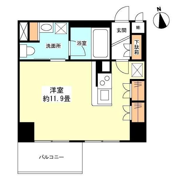 グランカーサ新宿御苑1304号室