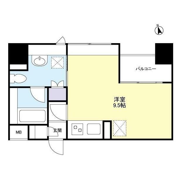 グランカーサ新宿御苑1307号室