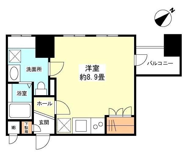 グランカーサ新宿御苑301号室