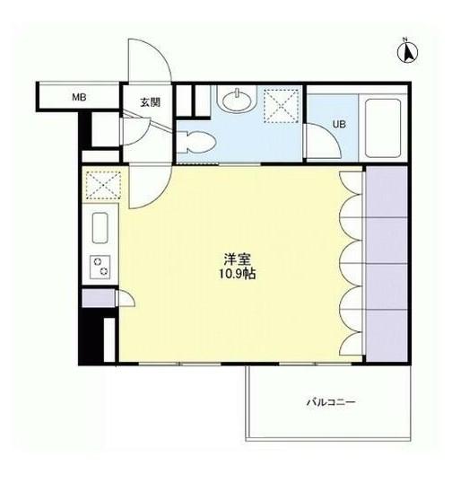 グランカーサ新宿御苑303号室