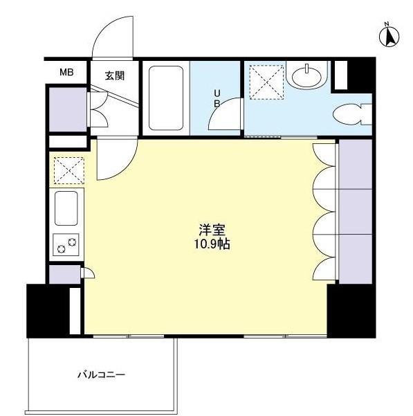 グランカーサ新宿御苑306号室