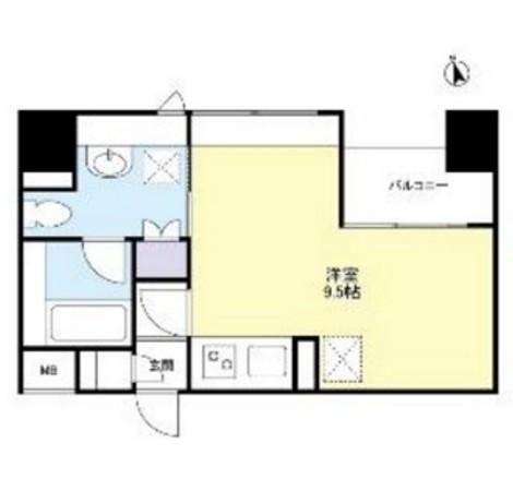 グランカーサ新宿御苑308号室