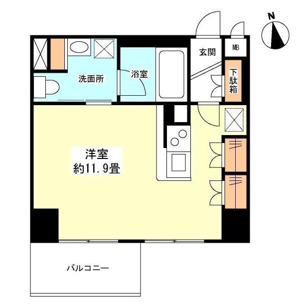 グランカーサ新宿御苑404号室