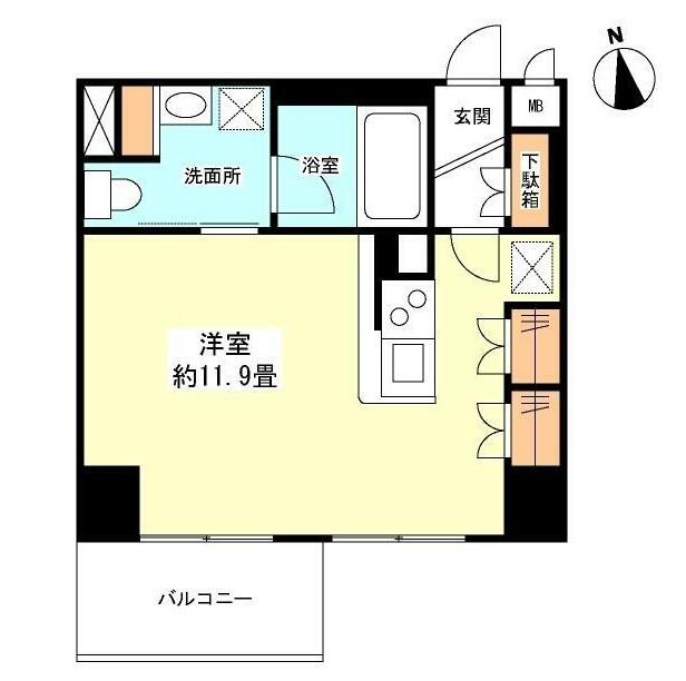 グランカーサ新宿御苑604号室