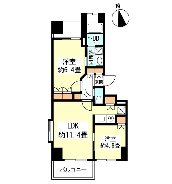 グランカーサ新宿御苑702号室