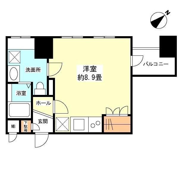 グランカーサ新宿御苑801号室