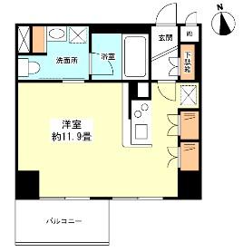 グランカーサ新宿御苑804号室