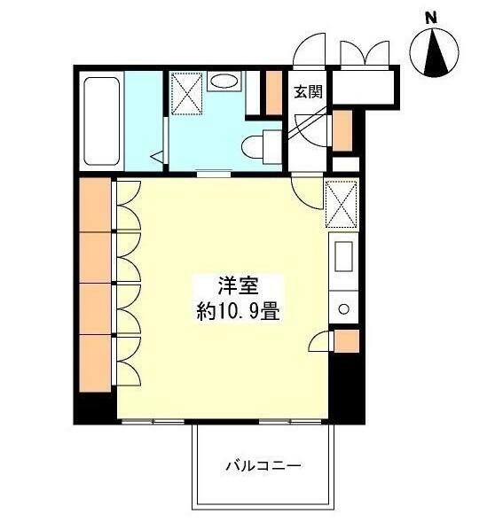 グランカーサ新宿御苑805号室