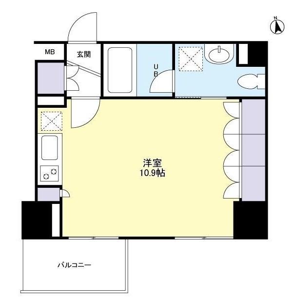 グランカーサ新宿御苑806号室