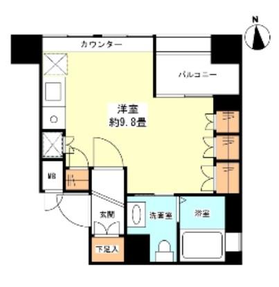 グランカーサ新宿御苑807号室