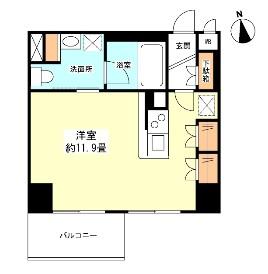 グランカーサ新宿御苑904号室
