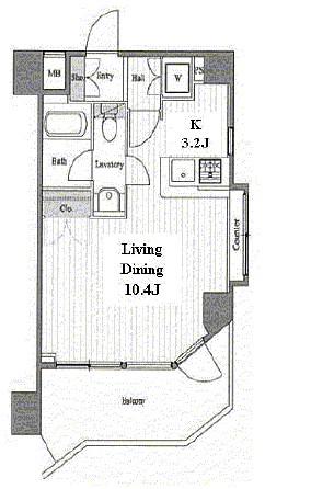 スペーシア池尻大橋401号室