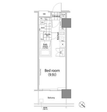 パークハビオ赤坂タワー1204号室
