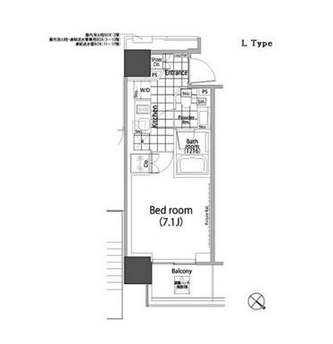パークハビオ赤坂タワー1301号室