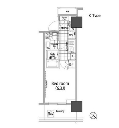パークハビオ赤坂タワー1502号室