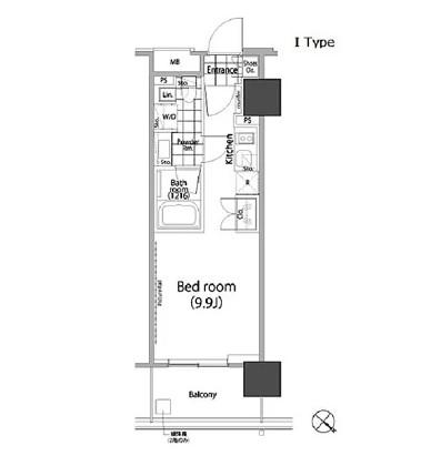 パークハビオ赤坂タワー1504号室
