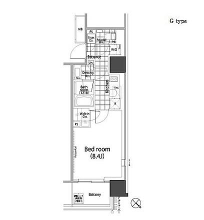 パークハビオ赤坂タワー1706号室