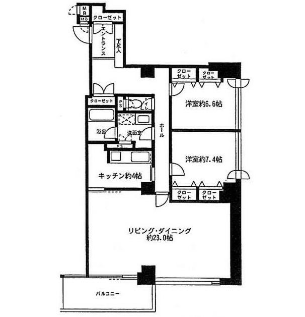 リバージュ品川202号室