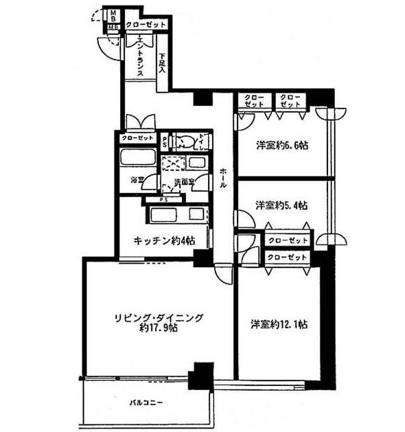 リバージュ品川902号室